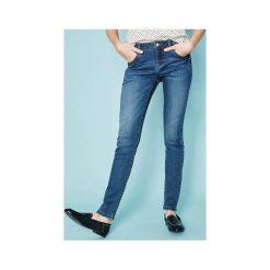 Jeansy skinny GASPARD. Szare jeansy damskie skinny marki Promod, z tkaniny. Za 89,90 zł.