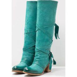 A.S.98 Kozaki mirto. Zielone buty zimowe damskie A.S.98, z materiału. Za 1259,00 zł.