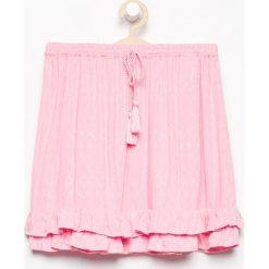 Spódnica z falbankami - Różowy. Czerwone spódniczki dziewczęce Reserved. W wyprzedaży za 39,99 zł.
