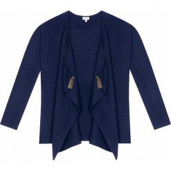 Kardigan kaszmirowy w kolorze granatowym. Niebieskie kardigany damskie marki Ateliers de la Maille, z kaszmiru. W wyprzedaży za 682,95 zł.