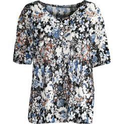 T-shirty damskie: Niebieski T-shirt Mistletoe