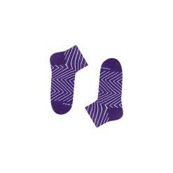 Skrzywana 9m2 - Skarpetki stopki. Niebieskie skarpetki męskie marki Quiksilver, z materiału, sportowe. Za 21,25 zł.
