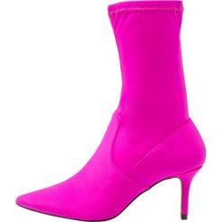 Botki damskie: Miss Selfridge DESIRE Botki pink