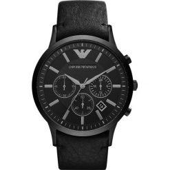 Emporio Armani - Zegarek AR2461. Szare zegarki męskie marki Emporio Armani, l, z nadrukiem, z bawełny, z okrągłym kołnierzem. Za 1499,00 zł.