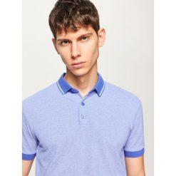 Koszulka polo - Niebieski. Niebieskie t-shirty chłopięce marki Reserved, l. W wyprzedaży za 49,99 zł.