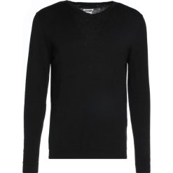 Swetry męskie: Jack & Jones JPRLUKE VNECK Sweter black