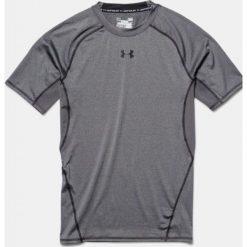 Odzież termoaktywna męska: Under Armour Koszulka termoaktywna HeatGear Compression Shortsleeve grafitowa r. S (1257468-090)