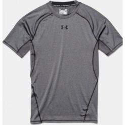 Odzież termoaktywna męska: Under Armour Koszulka męska HeatGear Armour Compression Gray r. S (1257468090)
