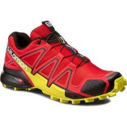 Buty trekkingowe męskie: Buty SALOMON - Speedcross 4 381154 27 V0 Radiant Red/Black/Corona Yellow