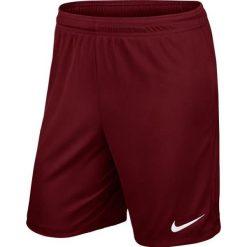 Spodenki i szorty męskie: Nike Spodenki piłkarskie  Park II M 725887-677 bordowe XL