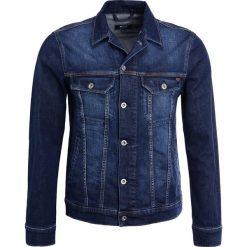 Mustang NEW YORK  Kurtka jeansowa stone washed. Czarne kurtki męskie jeansowe marki Mustang, l, z kapturem. Za 379,00 zł.