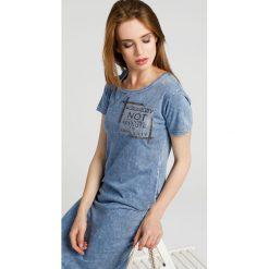 Sukienki: Sukienka - 8-5026 BLUE