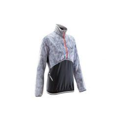 Bluza do biegania Evolutiv trail damska. Czerwone długie bluzy damskie marki KALENJI, z elastanu, z długim rękawem. Za 119,99 zł.