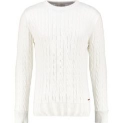 Swetry klasyczne męskie: Knowledge Cotton Apparel Sweter offwhite