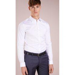 Tiger of Sweden BRODIE EXTRA SLIM FIT Koszula biznesowa pure white. Brązowe koszule męskie slim marki Tiger of Sweden, m, z wełny. Za 379,00 zł.