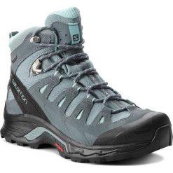 Trekkingi SALOMON - Quest Prime Gtx W GORE-TEX 404636  22 V0 Lead/Stormy Weather/Eggshell Blue. Szare buty trekkingowe damskie Salomon. Za 699,00 zł.