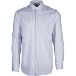 Koszule męskie na spinki: Koszula – Modern fit – w kolorze biało-niebieskim