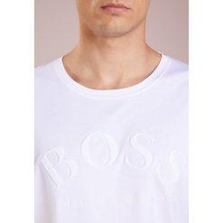 BOSS ATHLEISURE TALLONE Tshirt z nadrukiem white. Niebieskie t-shirty męskie z nadrukiem marki BOSS Athleisure, m. Za 379,00 zł.