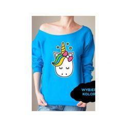 S-xxl wybierz kolory jednorożec bluza z. Brązowe bluzy z nadrukiem damskie One mug a day, s. Za 149,00 zł.