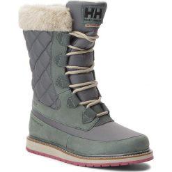 Śniegowce HELLY HANSEN - W Arosa Ht 112-91.495 Darkest Spruce/Rock/Laurel Oak/Port. Niebieskie buty zimowe damskie marki Helly Hansen. W wyprzedaży za 419,00 zł.