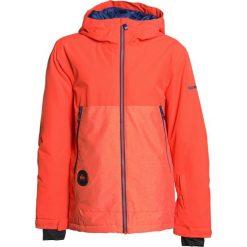Quiksilver SIERRA YOUTH Kurtka snowboardowa mandarin red. Niebieskie kurtki chłopięce sportowe marki Quiksilver, l, narciarskie. W wyprzedaży za 439,20 zł.