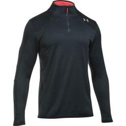Bejsbolówki męskie: Under Armour Bluza męska ColdGear® Reactor Fleece 1/4 Zip czarno-czerwona r. S (1299170-016)