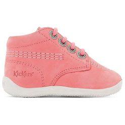 Wysokie buty sportowe BILLY. Niebieskie buty sportowe dziewczęce marki Kickers, z kauczuku, na sznurówki. Za 335,96 zł.