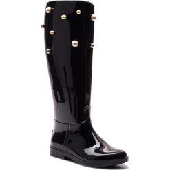 Kalosze RED VALENTINO - QQ0S0B75 Nero 0NO. Czarne buty zimowe damskie Red Valentino, z tworzywa sztucznego. Za 1079,00 zł.