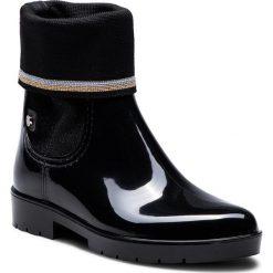 Kalosze TOMMY HILFIGER -  Knitted Sock Rain Bo FW0FW03565 Black 990. Czarne buty zimowe damskie TOMMY HILFIGER, z materiału. W wyprzedaży za 359,00 zł.
