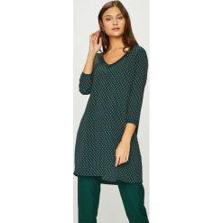 Answear - Sukienka Heritage. Szare sukienki mini ANSWEAR, na co dzień, l, z poliesteru, casualowe, proste. W wyprzedaży za 99,90 zł.
