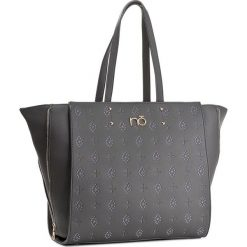 Torebka NOBO - NBAG-D0011-C019 Ciemnoszary. Szare torebki klasyczne damskie Nobo, ze skóry ekologicznej. W wyprzedaży za 149,00 zł.