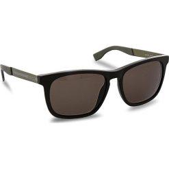 Okulary przeciwsłoneczne BOSS - 0245/S Brązowy Kolorowy. Brązowe okulary przeciwsłoneczne męskie wayfarery marki Boss. W wyprzedaży za 459,00 zł.