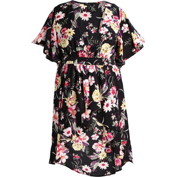 3393eee2d3a01 New Look Curves Kurtka wiosenna black - Czarne kurtki damskie marki ...