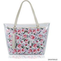 TOREBKA DELISE 2W1 1957 ROMANTYCZNE RÓŻE. Czerwone torebki klasyczne damskie marki Pakamera. Za 260,00 zł.