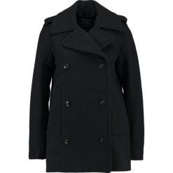Abercrombie & Fitch Płaszcz wełniany /Płaszcz klasyczny black beauty. Czarne płaszcze damskie wełniane Abercrombie & Fitch, l, klasyczne. W wyprzedaży za 554,95 zł.