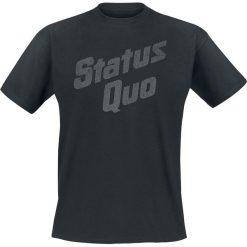 T-shirty męskie: Status Quo Vintage Logo T-Shirt czarny