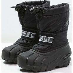 Buty zimowe damskie: Sorel CUB Śniegowce black