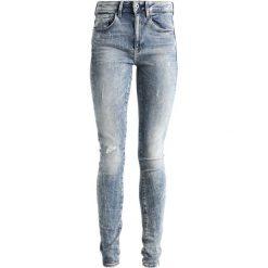 GStar 3301 HIGH SKINNY NEW Jeans Skinny Fit lt vintage aged destroy. Szare jeansy damskie marki G-Star, z bawełny. W wyprzedaży za 426,30 zł.