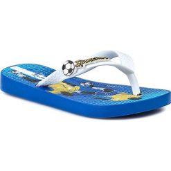 Japonki IPANEMA - Temas VII Kids 81202 Blue/White 22412. Białe sandały chłopięce Ipanema, z tworzywa sztucznego. Za 49,00 zł.
