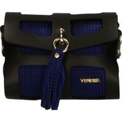 Torebka - 171081 NER-BL. Czarne torebki klasyczne damskie Venezia, ze skóry. Za 329,00 zł.