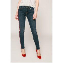 Tommy Hilfiger - Jeansy Venice. Niebieskie jeansy damskie marki TOMMY HILFIGER, z bawełny. W wyprzedaży za 539,90 zł.