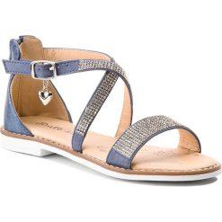Sandały dziewczęce: Sandały NELLI BLU – CS1086-1 Granatowy