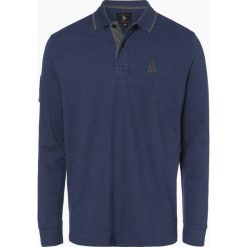 Andrew James Sailing - Męska koszulka polo, niebieski. Niebieskie koszulki polo Andrew James Sailing, m, z haftami, z materiału. Za 139,95 zł.