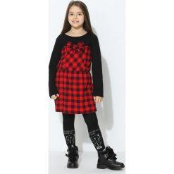 Czerwono-Czarna Sukienka Sweet Mate. Czarne sukienki niemowlęce marki Born2be, z elastanu. Za 29,99 zł.