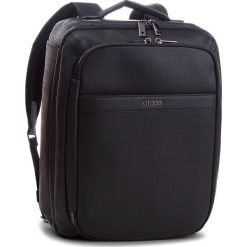 Plecak GUESS - HM6543 POL84  BLA. Czarne plecaki męskie marki Guess, z aplikacjami, ze skóry ekologicznej. W wyprzedaży za 559,00 zł.