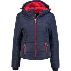 Superdry SPORTS PUFFER Kurtka zimowa dark blue. Niebieskie kurtki damskie zimowe marki Superdry, xl, z materiału. W wyprzedaży za 415,20 zł.