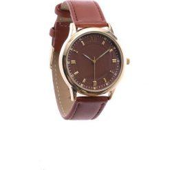 Brązowy Zegarek Conventional. Brązowe zegarki damskie Born2be. Za 29,99 zł.