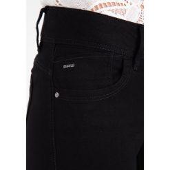 GStar LYNN MID SKINNY Jeans Skinny Fit black. Czarne jeansy damskie relaxed fit marki G-Star, z bawełny. Za 419,00 zł.