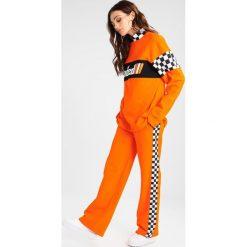 Spodnie dresowe damskie: Jaded London WIDE LEG JOGGER WITH SIDE TAPE DETAIL Spodnie treningowe orange