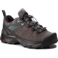 Trekkingi SALOMON - X Ultra 3 Ltr Gtx W GORE-TEX 404786 21 V0 Magnet/Phantom/Bluebird. Szare buty trekkingowe damskie marki Salomon, z gore-texu, na sznurówki, outdoorowe, gore-tex. W wyprzedaży za 499,00 zł.